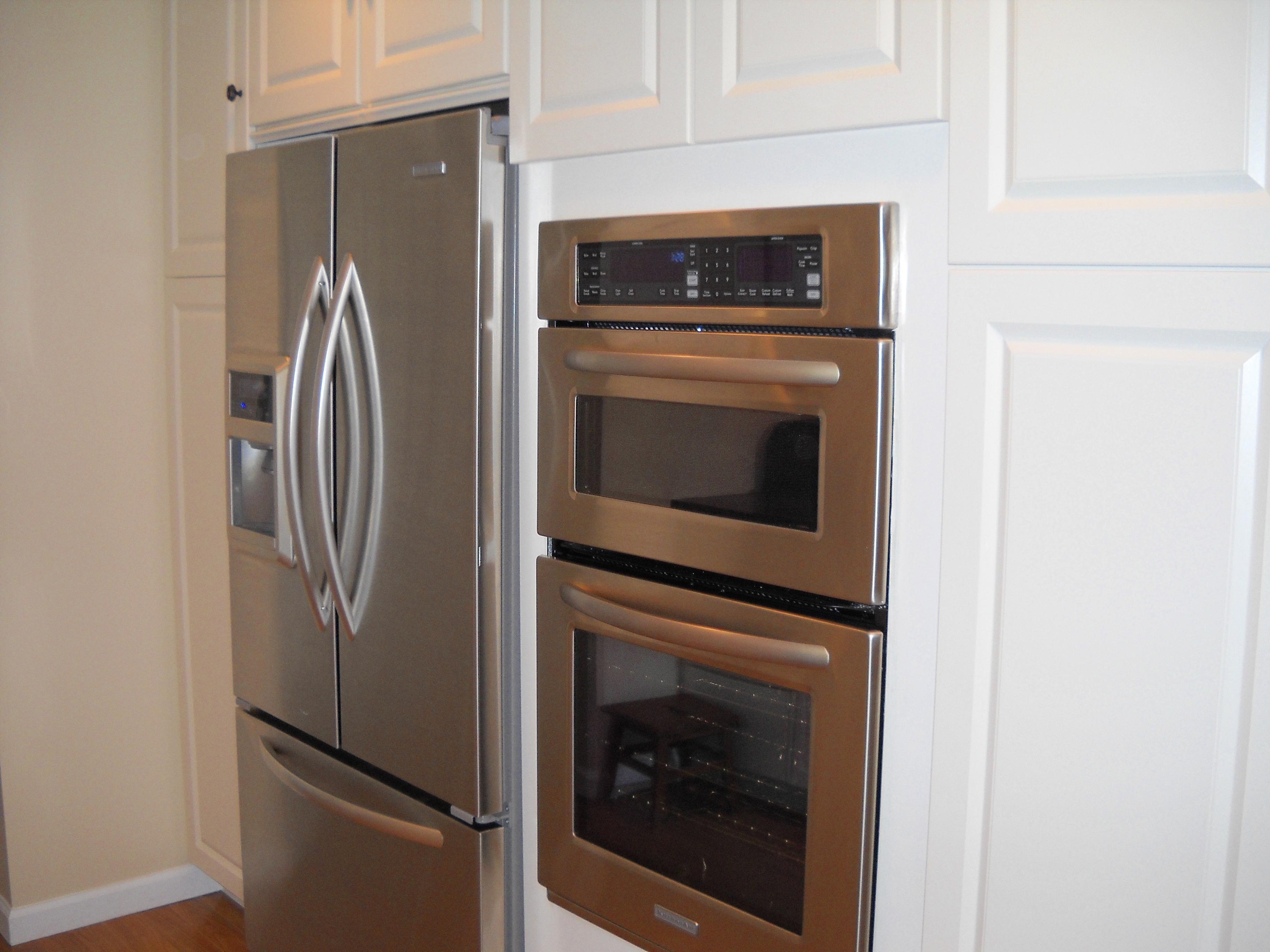 built in appliances. Black Bedroom Furniture Sets. Home Design Ideas